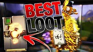 Download LUCKIEST Llama Opening YET! | BEST Legendary Troll Loot Truck Llamas! | Fortnite Save the World PVE Video