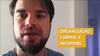 Download Organização formal e informal Video