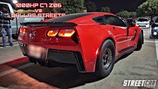 Download 1000HP C7 Z06 vs Twin Turbo Lambo vs Turbo 2JZ RX7 vs TT Viper vs 1000HP GT500 & MORE! Video