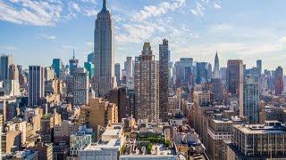 Download New York City Via Drone Video