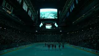 Download Toronto Maple Leafs hold moment of silence for victims of van attack Video
