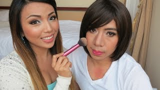 Download Husband gets a Girl Makeover Video