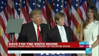 Download Donald Trump: ″Hillary Clinton congratulated us for our victory, we owe her a debt of gratitude″ Video