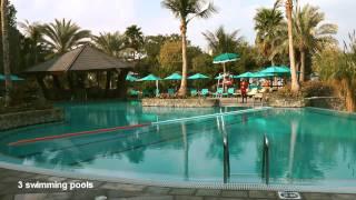 Download Jebel Ali Golf Resort Dubai | Jebel Ali Hotel & Palm Tree Court Video