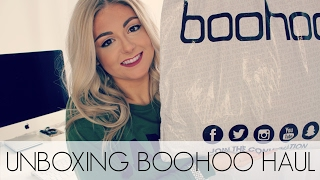 Download Try On Unboxing BooHoo Haul | 2017 Video