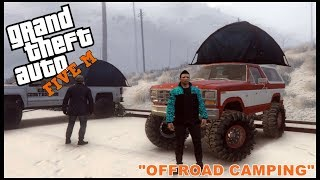 Download GTA 5 ROLEPLAY - OFFROAD CAMPING TRIP - EP. 203 - CIV Video