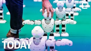 Download Home and industrial robots can be hacked to hurt humans | Engadget Today Video