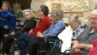 Download Seniors forced out during Harvey return home Video