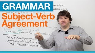 Download English Grammar: Subject-Verb Agreement with EACH, EVERY, ANY, SOME Video