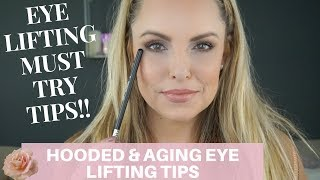 Download LIFE CHANGING, EYE LIFTING TIPS FOR AGING EYES || Makeup Beginners Guide Video