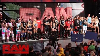 Download Stephanie McMahon and Mick Foley announce the WWE Universal Championship: Raw, July 25, 2016 Video