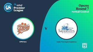 Download 2019 Netball Premier League - Round 7 - Opens - GWS Fury v Manly Warringah Sapphires Video