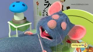 Download chuhe ko bukhar hai | आज मंगलवार है चूहे को बुखार है | hindi rhymes for children | kiddiestv hindi Video
