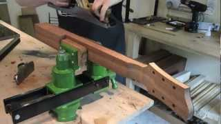 Download Fabrication manche guitare electrique (Eric Stiegler - Luthier) Video