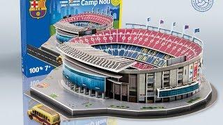 Download ″Camp Nou″ del FC Barcelona   Nanostad - Puzzle 3D Video