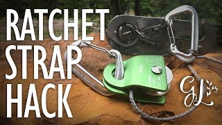 Download How to Turn a RATCHET STRAP into a WINCH! Video