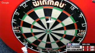 Download Rattlesnake vs grz.dzialkowski -WDA darts Video