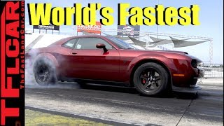 Download 0-60 MPH in 2.3 Sec! How the Dodge Demon is The World's Fastest Accelerating Production Car Video