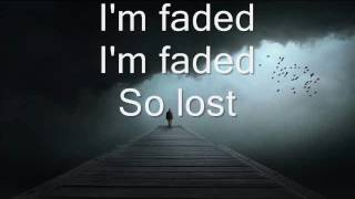 Download Alan Walker - Faded (Where are you now) Lyrics Video