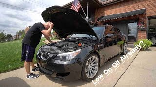 Download My ″Unreliable″ BMW M5 Started Acting Unreliable On The First Day.. Video