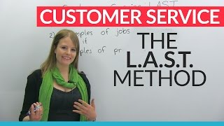 Download How to give great customer service: The L.A.S.T. method Video