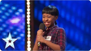 Download Asanda Jezile the 11yr old diva sings 'Diamonds' - Week 3 Auditions | Britain's Got Talent 2013 Video