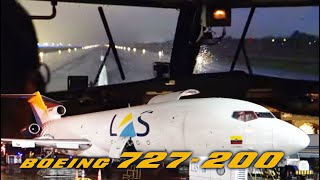Download Boeing 727-200F ULTIMATE COCKPIT MOVIE - Multicam Bogota-Panama! [AirClips full flight series] Video