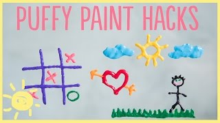 Download DIY | 3 Puffy Paint Hacks Video