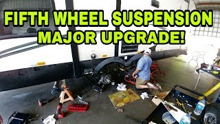 Download Adding Suspension and Shocks to Fifth Wheel RV Video