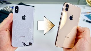 Download Turn Your iPhone X Into a XS! Perfect Gold Kit Video