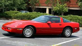 Download You Must See !!! 1986 Chevrolet usa Corvette C4 Convertible All Versions Specificati Video