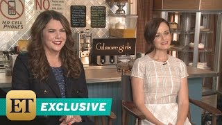 Download EXCLUSIVE: We Explain What Shipping Means to the 'Gilmore Girls' and Their Reaction Is Too Cute! Video
