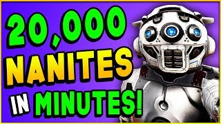 Download HOW TO MAKE 20,000 NANITES IN 10 MINUTES! - No Man's Sky Next Guide (Duplication Glitch) Video