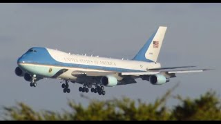Download Air Force One - Chicago O'Hare ( ORD ) Approach & Landing [11.25.2014] Video