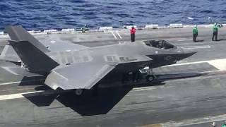 Download F-35C First Integrated Carrier Ops Aboard USS Lincoln Video