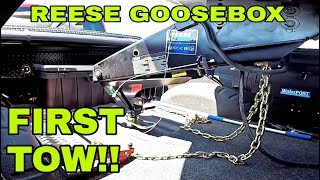 Download First Tow with the Reese Goosebox! DID IT FAIL THE TEST? Watch! Video