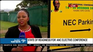 Download Preparations finalised in Nasrec ahead of ANC conference Video