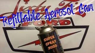 Download Make a Refillable Aerosol Spray Paint Can Video