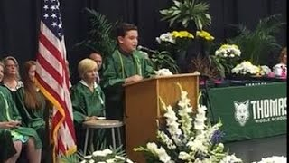 Download Must-watch! 14-yr-old does Donald, Hillary, Bernie, Ted in WOW graduation speech! Video