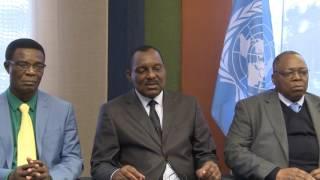 Download Patrick Mayombe Mumbyoko, Ministre de l'agriculture, République démocratique du Congo. Video