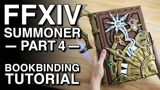Download Bookbinding Tutorial - FFXIV Summoner Cosplay - Part 4 Video
