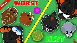 Download MOPE.IO / BEST VS WORSE ANIMALS TO CHOOSE IN MOPE.IO! / NEW MOPE.IO ANIMAL STRADEGY TIPS & GAMEPLAY! Video
