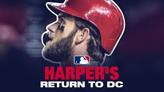 Download Harper's EPIC return to D.C. (boos, HR, bat flip and more) Video