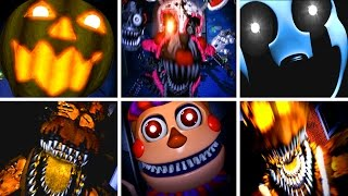 Download Five Nights at Freddy's 4 All NEW Jumpscares Video