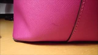Download How to Remove an Ink Stain on Your Saffiano Leather Kate Spade Purse. WARNING! MAY FADE OR DAMAGE Video