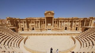 Download ISIS destroys part of Roman theater in Palmyra – Syrian antiquities chief Video