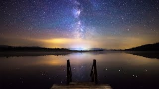 Download One Night At The Lake - Milky Way Timelapse Video