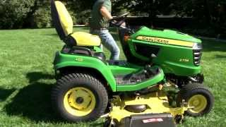 Download X700 Signature Series Drive Over Mower Deck Installation and Removal Video