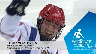 Download USA vs Russia highlights | Ice sledge hockey | Sochi 2014 Paralympic Winter Games Video