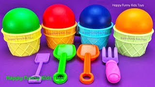 Download Play Doh Ice Cream Cups Surprise Eggs Minions Splashlings Zuru 5 Surprise Toys Chupa Chups Star Wars Video
